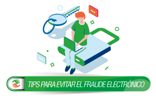 tips evite fraude electronico